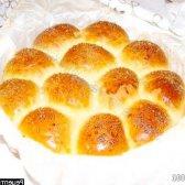 Рецепт ліниві булочки з курагою, фініками і родзинками з фото