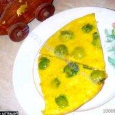 Рецепт сирний омлет з брюссельською капустою з фото