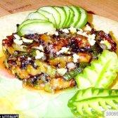 Рецепт смажені кабачки з часником і соєвим соусом з фото