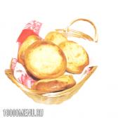 Шаньги. калорійність шаньги