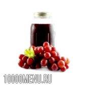 Сироп виноградний