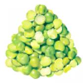 Сушений зелений горох