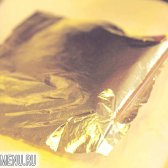 Що таке золота фольга? золота фольга (сусальне золото)