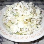 Як приготувати легкий салат з курочкою і пекінською капустою - рецепт