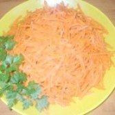 Як приготувати морква по-корейськи гостру - рецепт