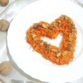 Як приготувати морква по-корейськи з волоськими горіхами - рецепт