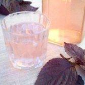 Як приготувати напій з фіолетового базиліка - рецепт