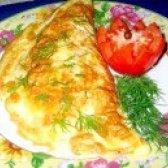 Як приготувати омлет з начинкою - рецепт