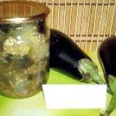 Як приготувати гострі баклажани на зиму - рецепт
