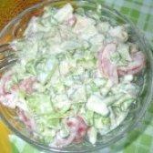 Як приготувати овочевий салат з хріном - рецепт