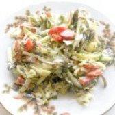 Як приготувати овочевий салат з капустою - рецепт
