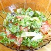 Як приготувати овочевий салат з кінзою - рецепт