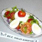 Як приготувати овочевий салат з перепелиними яйцями - рецепт