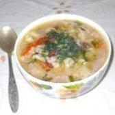 Як приготувати овочевий суп з червоною квасолею - рецепт