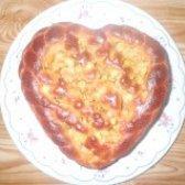 Як приготувати пиріг з яблуками серце - рецепт