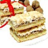 Як приготувати тістечко з горіхами - рецепт