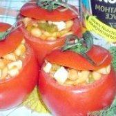 Як приготувати помідори фаршировані кальмарами - рецепт