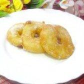 Як приготувати пончики яблучні - рецепт