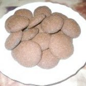 Як приготувати пісне шоколадно-полуничне печиво - рецепт