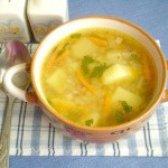 Як приготувати пісний гречаний суп з гарбузом - рецепт