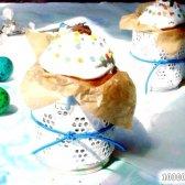 Кулінарний рецепт паски на жовтках з в'яленою вишнею з фото