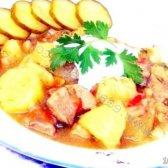 Кулінарний рецепт м'ясо тушковане в пиві з фото