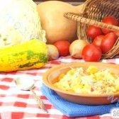Кулінарний рецепт овочеве рагу на качиному жиру з фото