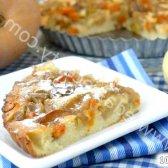 Кулінарний рецепт пиріг з гарбузом і яблуками з фото