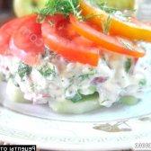 Кулінарний рецепт весняний вітамінний салат з фото