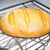Рецепт хліб з борошна вищого сорту прискореним способом з фото