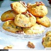 Рецепт печиво з шоколадною крихтою і горіхами з фото